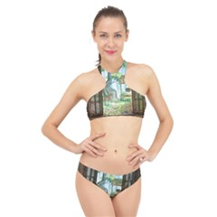 Town 1660349 1280 High Neck Bikini Set