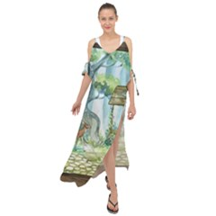 Town 1660349 1280 Maxi Chiffon Cover Up Dress