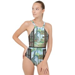 Town 1660349 1280 High Neck One Piece Swimsuit
