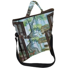 Town 1660349 1280 Fold Over Handle Tote Bag
