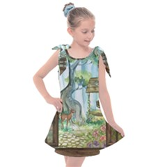 Town 1660349 1280 Kids  Tie Up Tunic Dress by vintage2030