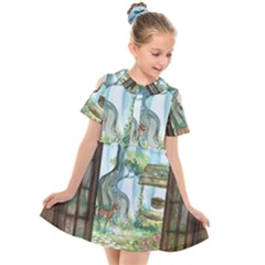 Town 1660349 1280 Kids  Short Sleeve Shirt Dress