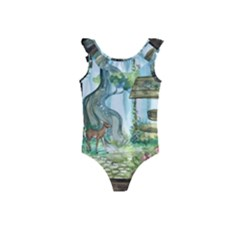 Town 1660349 1280 Kids  Frill Swimsuit