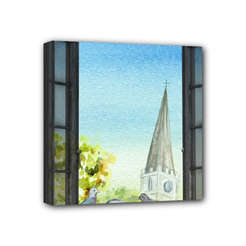 Town 1660455 1920 Mini Canvas 4  X 4  (stretched)
