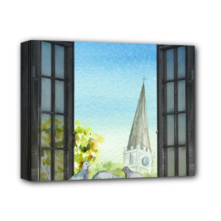 Town 1660455 1920 Deluxe Canvas 14  x 11  (Stretched)