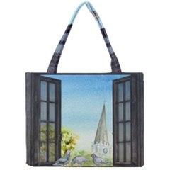Town 1660455 1920 Mini Tote Bag by vintage2030