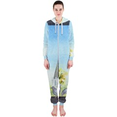 Town 1660455 1920 Hooded Jumpsuit (ladies)