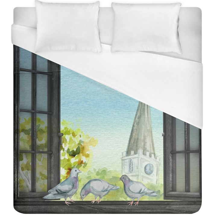 Town 1660455 1920 Duvet Cover (King Size)