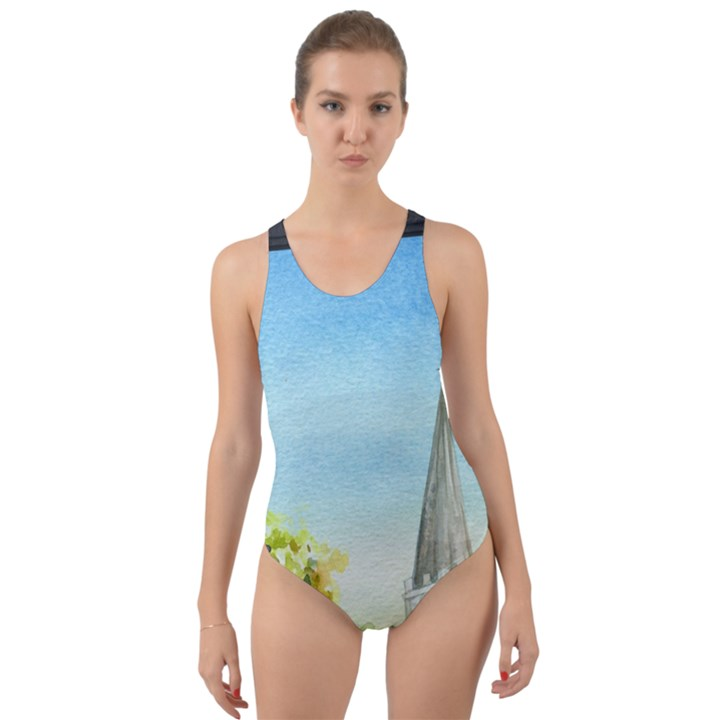 Town 1660455 1920 Cut-Out Back One Piece Swimsuit