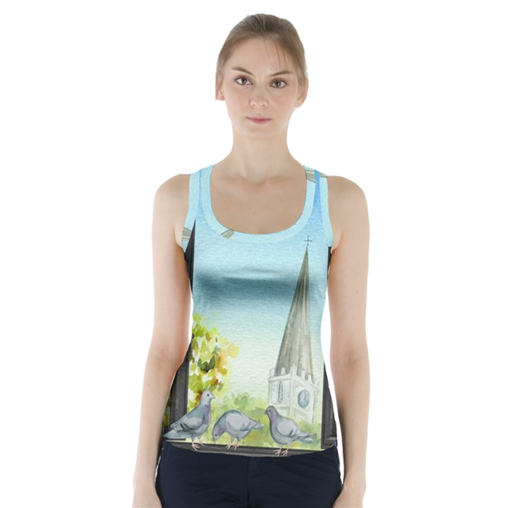Town 1660455 1920 Racer Back Sports Top