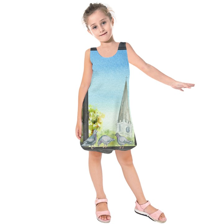 Town 1660455 1920 Kids  Sleeveless Dress