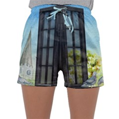 Town 1660455 1920 Sleepwear Shorts by vintage2030