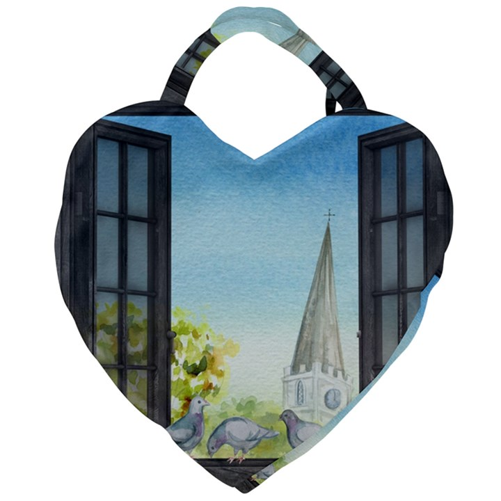 Town 1660455 1920 Giant Heart Shaped Tote