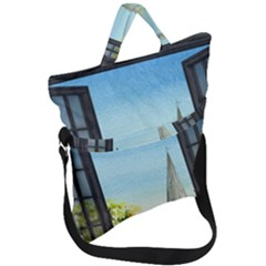 Town 1660455 1920 Fold Over Handle Tote Bag