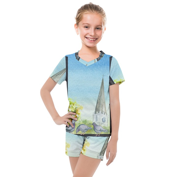 Town 1660455 1920 Kids  Mesh Tee and Shorts Set