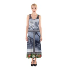 Winter 1660924 1920 Sleeveless Maxi Dress