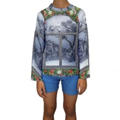 Winter 1660924 1920 Kids  Long Sleeve Swimwear