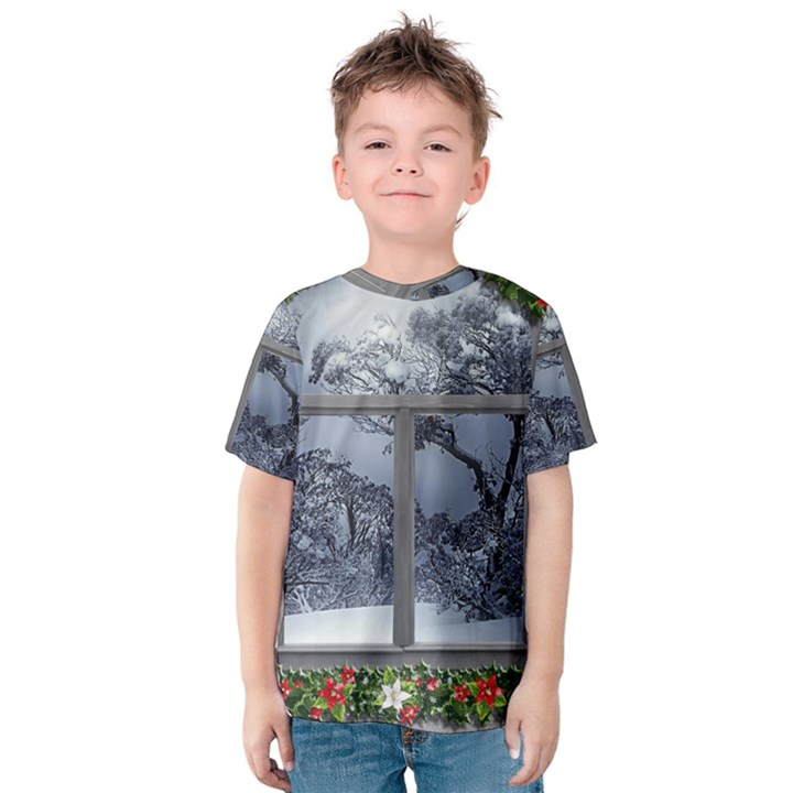 Winter 1660924 1920 Kids  Cotton Tee