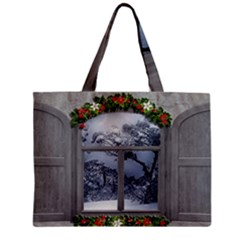Winter 1660924 1920 Zipper Mini Tote Bag by vintage2030