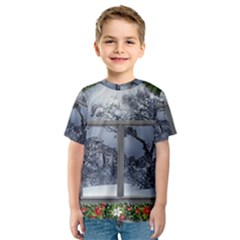 Winter 1660924 1920 Kids  Sport Mesh Tee