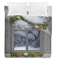 Winter 1660924 1920 Duvet Cover Double Side (Queen Size)