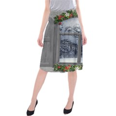 Winter 1660924 1920 Midi Beach Skirt