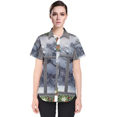 Winter 1660924 1920 Women s Short Sleeve Shirt