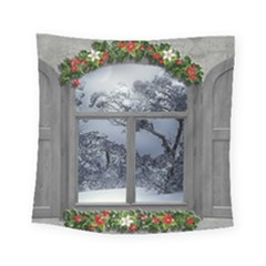 Winter 1660924 1920 Square Tapestry (Small)
