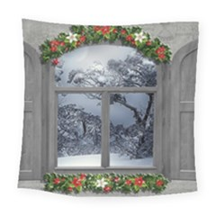 Winter 1660924 1920 Square Tapestry (Large)