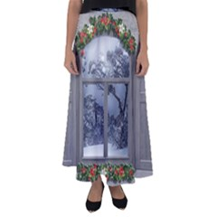 Winter 1660924 1920 Flared Maxi Skirt by vintage2030