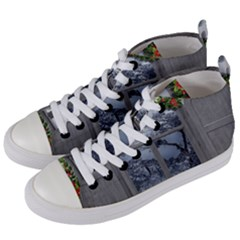 Winter 1660924 1920 Women s Mid-Top Canvas Sneakers