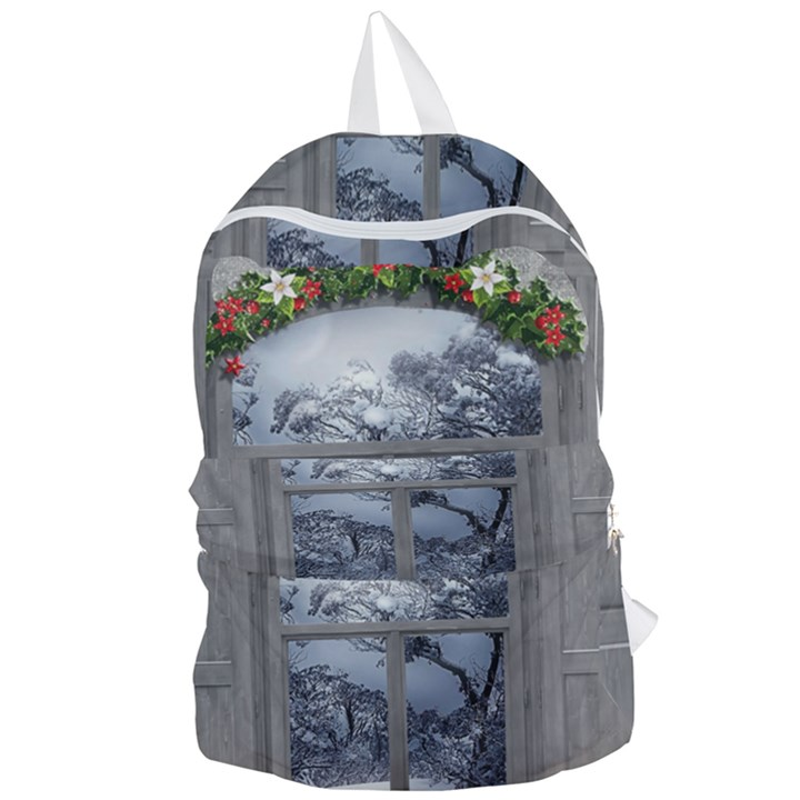 Winter 1660924 1920 Foldable Lightweight Backpack