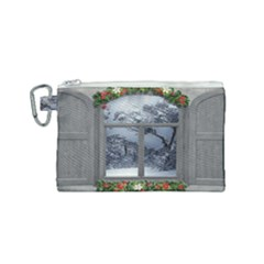 Winter 1660924 1920 Canvas Cosmetic Bag (Small)