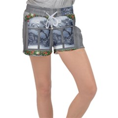 Winter 1660924 1920 Women s Velour Lounge Shorts