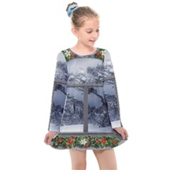 Winter 1660924 1920 Kids  Long Sleeve Dress
