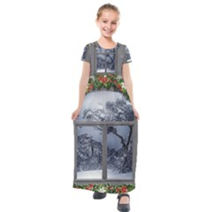 Winter 1660924 1920 Kids  Short Sleeve Maxi Dress