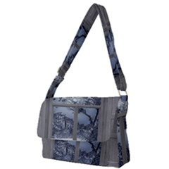 Winter 1660924 1920 Full Print Messenger Bag