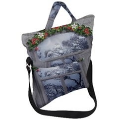 Winter 1660924 1920 Fold Over Handle Tote Bag