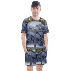 Winter 1660924 1920 Men s Mesh Tee and Shorts Set