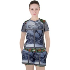 Winter 1660924 1920 Women s Tee And Shorts Set