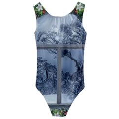 Winter 1660924 1920 Kids  Cut-Out Back One Piece Swimsuit