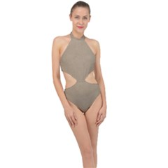 Background 1706632 1920 Halter Side Cut Swimsuit