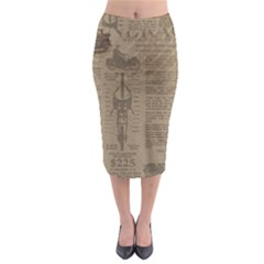 Background 1706636 1920 Midi Pencil Skirt