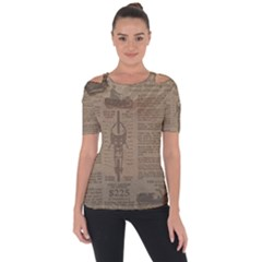 Background 1706636 1920 Shoulder Cut Out Short Sleeve Top