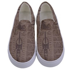 Background 1706636 1920 Kids  Canvas Slip Ons
