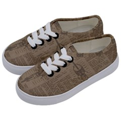 Background 1706636 1920 Kids  Classic Low Top Sneakers by vintage2030