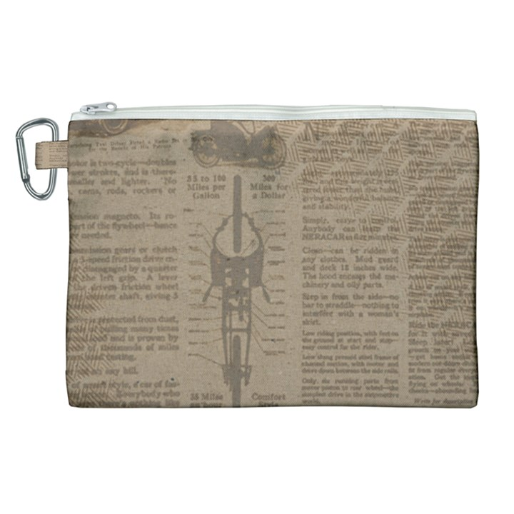 Background 1706636 1920 Canvas Cosmetic Bag (XL)