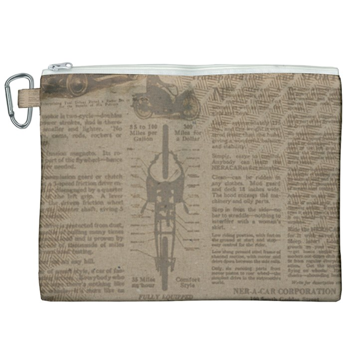Background 1706636 1920 Canvas Cosmetic Bag (XXL)