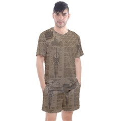 Background 1706636 1920 Men s Mesh Tee And Shorts Set by vintage2030