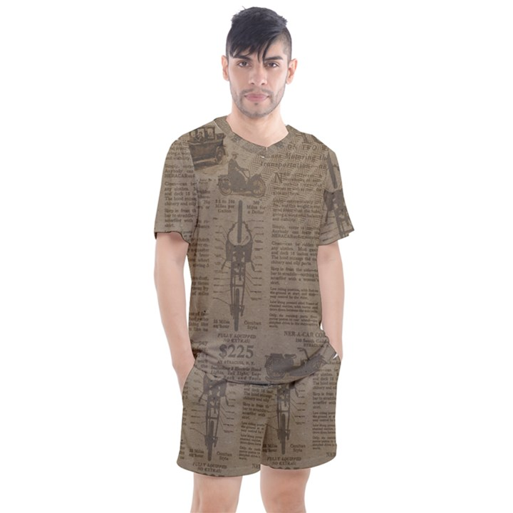 Background 1706636 1920 Men s Mesh Tee and Shorts Set